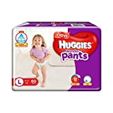 #7: Huggies Wonder Pants Large Size Diapers (60 Count)