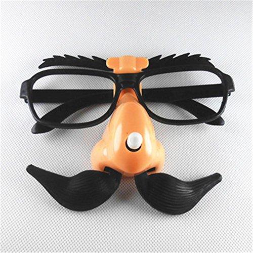 y Ganzes Gläser Spielzeug Lustige Lustige Brille Adult Entertainment Gläser , pick eyebrows, pick mustache glasses (Adult Beängstigend Kostüm)