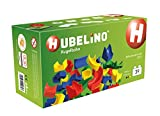HUBELINO Marble Run - 39-Piece Run Elements Expansion Set 2016 - the Original! Made in Germany! - Certified and Award-Winning Marble Run - 100% compatible with Duplo