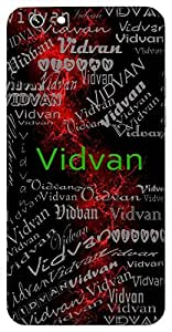 Vidvan (Scholar) Name & Sign Printed All over customize & Personalized!! Protective back cover for your Smart Phone : HTC one M-9