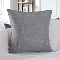 "Phantoscope New Imitation Texture Series Decorative Throw Pillow Case Cushion Cover 1 Peice 22"" x 22"""