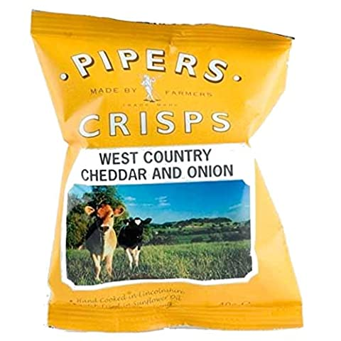 Pipers Crisps | Lye Cross Cheddar & Onion | 13 x 40g