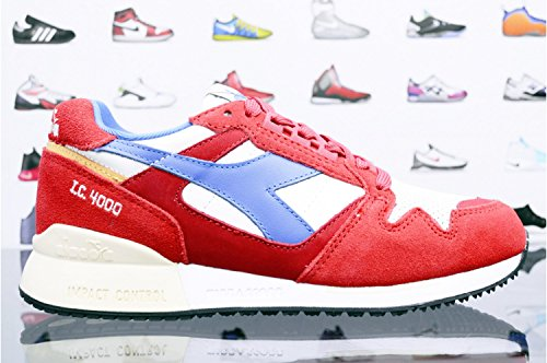 Diadora 501.170945 Chaussures de sport Homme Pompeian Red/Nautical Blue