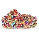 HEEPDD 1m Brillante Colorido de la Cinta del Ajuste de Piedra, DIY Apliques de Cristal Rhinestones de Cristal Shell Aplique d