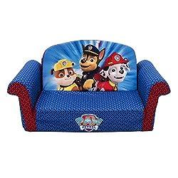 Marshmallow Childrens Furniture - Paw Patrol Flip Open Sofa