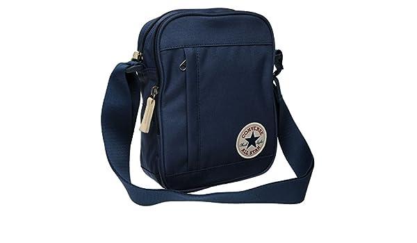 4f29f26476 Converse Stash Bag Navy Sports Gymbag Kitbag H: 23cm; W: 17cm; D: 8cm.:  Amazon.co.uk: Sports & Outdoors
