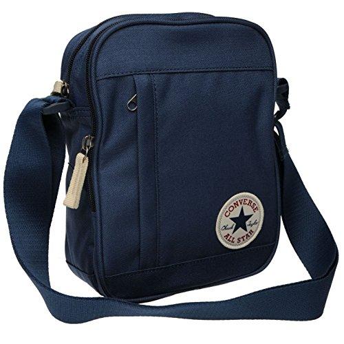 Imagen de converse stash bolsa de deporte azul marino gymbag– para niños, color azul marino, tamaño h 23cm; w 17cm; d 8cm.
