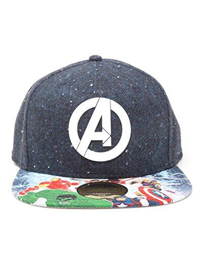 Marvel Avengers Assemble SB241110AVG con Bill-Berretto Snapback con Logo 7c5de1ab5a5b