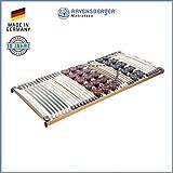 RAVENSBERGER DUOMED® 7-Zonen-Teller-LEISTEN-BUCHE-Lattenrahmen | Starr | Made IN Germany - 10 Jahre GARANTIE | TÜV/GS + Blauer Engel - Zertifiziert | 90 x 200 cm