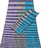 Carrara Paar Schwamm aus Reiner Baumwolle Qualität Extra 60 X 110 cm OSPITE 40 X 60 cm Lilla
