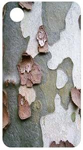 Tree Bark Peeling Back Cover Case for Apple iPhone 3