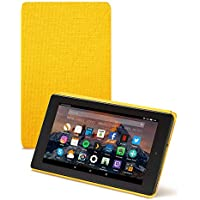 Amazon - Funda para Fire 7 (tablet de 7 pulgadas, 7ª generación, modelo de 2017), Amarillo