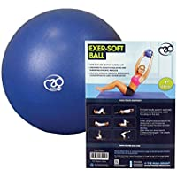 Fitness Mad FMES7 Yoga-Mad Exersoft Ball,Blue, 7 inch