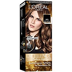 L'Oreal Paris Excellence Fashion Highlights Hair Color, Honey Blonde, (29ml + 16g)