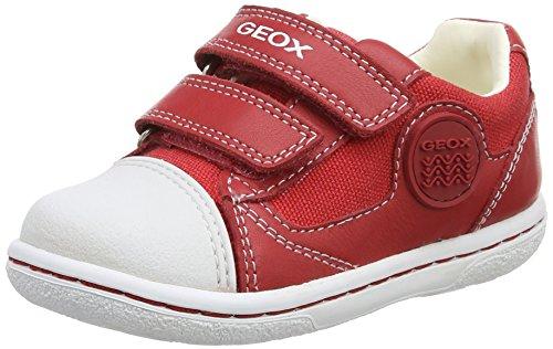 Geox Baby Jungen B Flick Boy C Sneaker, Rot (REDC7000), 21 EU