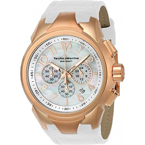 technomarine-sea-dream-herren-armbanduhr-48mm-armband-leder-weiss-gehause-edelstahl-batterie-tm-7150