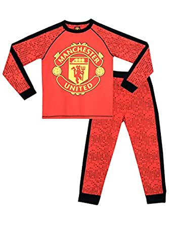 Manchester United Boys Manchester United FC Pyjamas Age 10 to 11