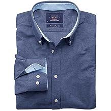 Extra Slim Fit Oxfordhemd in jeansblau