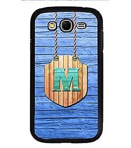 YuBingo Samsung Galaxy Grand I9082 :: Samsung Galaxy Grand Z I9082Z :: Samsung Galaxy Grand Duos I9080 I9082 Designer Phone Back Case Cover ( Majestic Letter M (Wood Finish Plastic) )