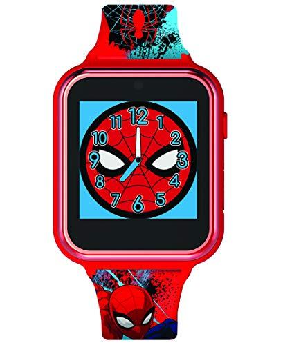 Spiderman Reloj Unisex Niños de Digital con Correa en Silicona SPD4588