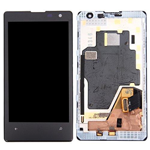 Schermo LCD Nokia Display LCD + Touch Panel con Cornice per Nokia Lumia 1020 (Nero)