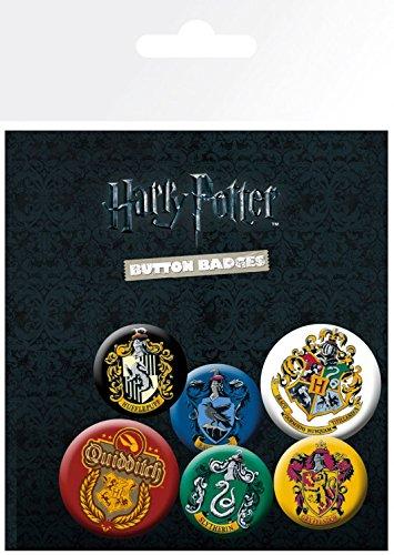 harry-potter-paquet-de-badges-crests-1-x-38mm-4-x-25mm-badges-15-x-10-cm