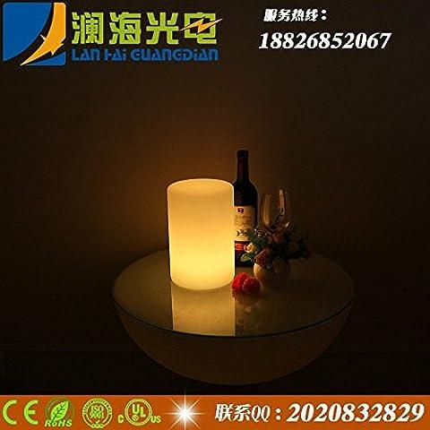 Columnas de luz led Fashion Night Lights Home Corredor muebles ligeros de plástico luces coloridas 0.5-5 Glow