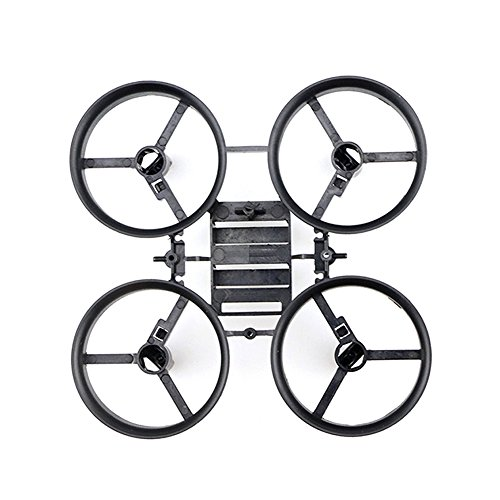 GEEDIAR® Original JJRC H36 Drohne Ersatzteile Propeller Stützen mit Rahmen für JJRC H36 Eachine E010 und Blade Inductrix Micro Drone - 4