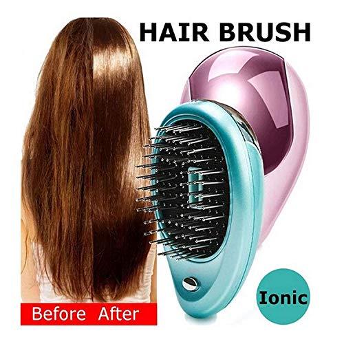 Tragbare elektrische Ionen Haarbürste Takeout Mini Ion Haarbürste Kamm Massage 2 Stück