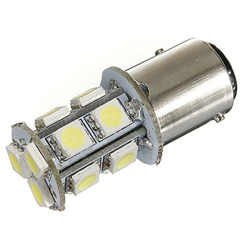 YONGYAO 1157 Bay15D Voiture Lumineux LED Ampoule 13-5050Smd DC 12V Blanc Frais
