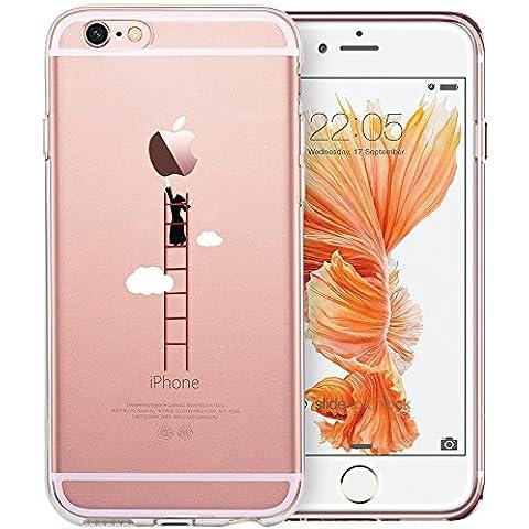 iPhone 6/6s Funda, ESR Suave Carcasa iPhone 6/6s Case Cover Silicona Funda para Apple iPhone 6 / iPhone 6s - Escalerilla