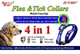 JUNMO Flea and Tick Collar for All Kinds of Dogs and Cats