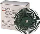 Scotch-Brite Radial Bristle Disc RD-ZB, 76 mm, P50 - Green, 2 Discs/Box