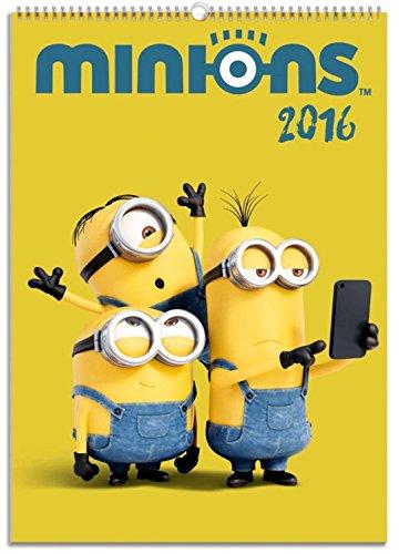 Minions - Calendario Ufficiale 2016 Poster Calendario (42 x 30cm)