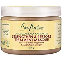 Shea Humedad jamaicana Negro Aceite de ricino Fortalecer/Grow y restauración Tratamiento máscara ...