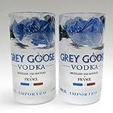 Grey Goose Vodka Bottle Tumblers - Set of Two by BOTTLEHOOD