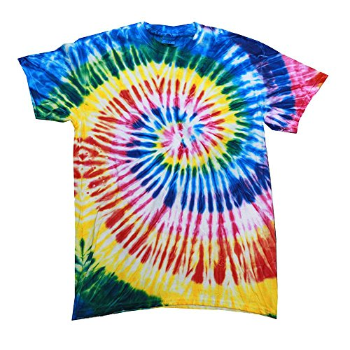 Colortone - Unisex Batik T-Shirt 'Swirl' / Santa Barbara, 3XL