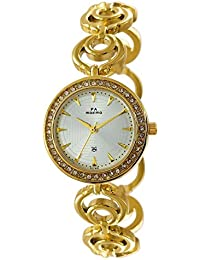 Maxima Analog White Dial Women's Watch-51780BMLY
