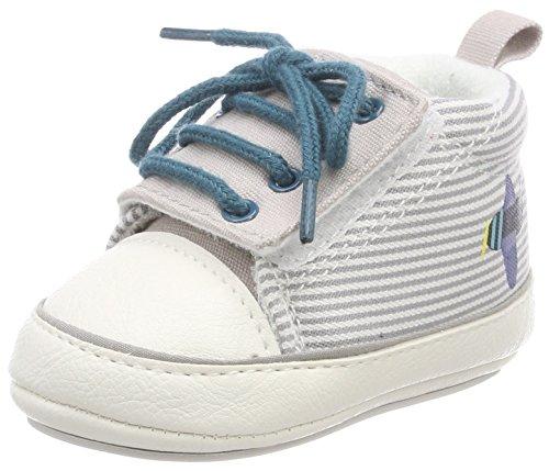 Sterntaler Baby Jungen Schuh Sneaker, Grau (Lichtgrau), 17/18 EU (Baby-jungen Baby Schuhe)