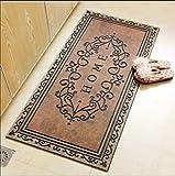 LFF.FF Türmatten Matratze Rutschfeste in der Teppich im Zimmer gummimatte Kunststoff Tür reiben...