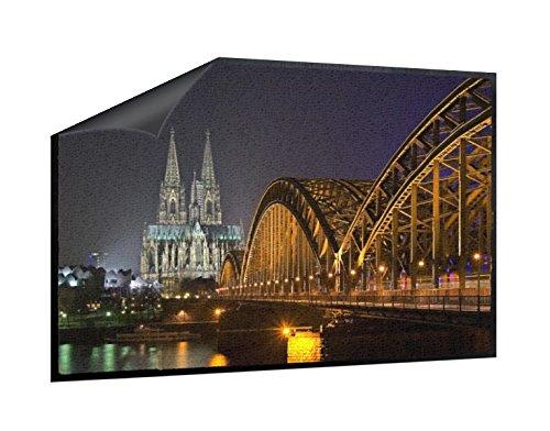 Klebefieber Fußmatte Hohenzollernbrücke am Kölner Dom