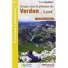 Gorges Lacs / Plateaux du Verdon 20PR 2014: FFR.P042