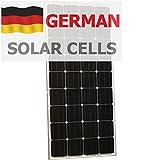 180W Panneau solaire Photonic Universe en allemand cellules solaires, pour une caravane, camping-car, caravane, bateau, yacht ou pour n'importe quel autre véhicule ou Marine, Applications, ou d'un système d'alimentation solaire Hors-réseau stationnaire (180Watt), une Choix pour chargement d'une batterie 12V...