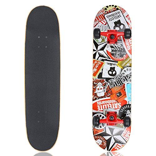 vokul-skateboards-31-x-8-high-bounce-complete-cruiser-longboard-skateboard-black-black