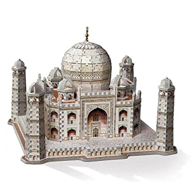 Wrebbit W3D2001 - Puzzle 3D del Taj Mahal de Wrebbit 3D