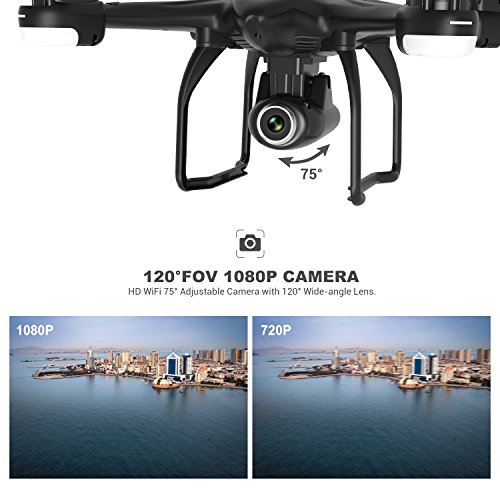 Zoom IMG-2 potensic drone gps t18 con
