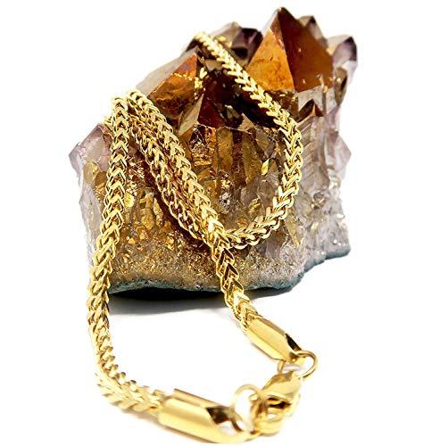 Lifetime Bling - Basismetall, vergoldet mit 14 kt (Karat Gold 24 Kette)
