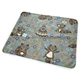 swerrtty Wild and Free (Night)_2807 Changing Pad Portable - Biggest Changing Mat to Change Diaper (25.5