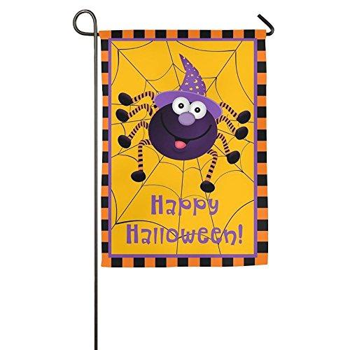 Citihomy Hausgarten Flagge Dekorativ Für Draußen Innenpartei Yardflagge Fröhliches Halloween 12 X 18 Zoll / 18 X 27 Zoll