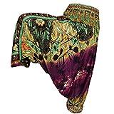 PANASIAM Aladin Pants, (vasBf),Batik in lila